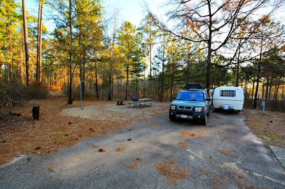 Cloud Crossing Campground (Kisatchie National Forest)