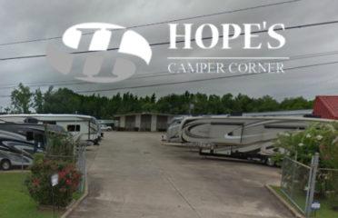 Hope's Camper Corner